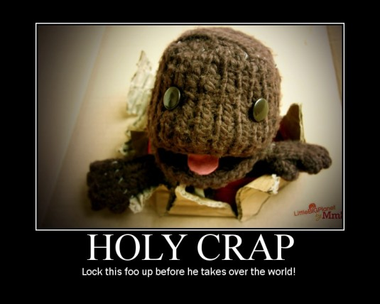 holy crap sackboy