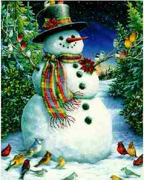 jingle bell rock snowman